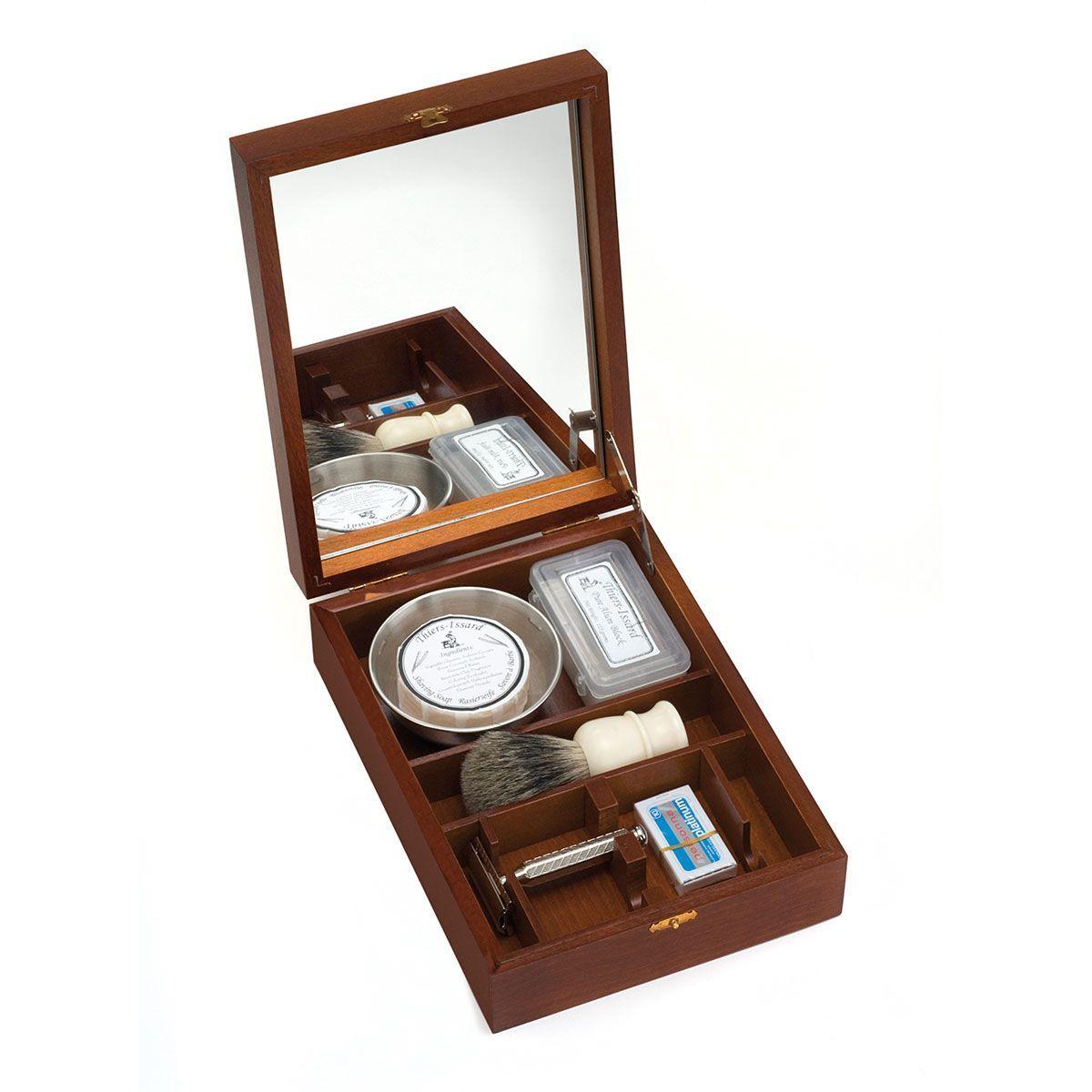 Boîte de rasage à l'ancienne rasoir de sûreté 1