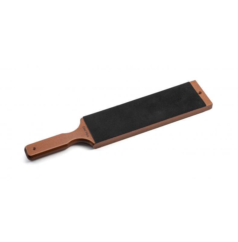 Special extra-large double sided leather strop without spring
