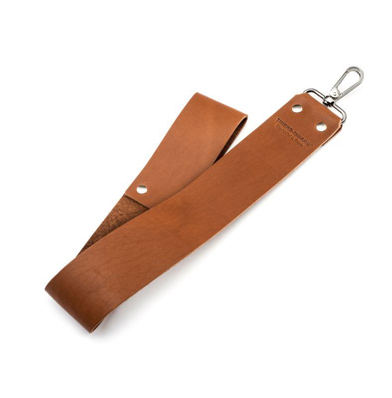 Leather strop belt