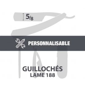 "Guillochés 5/8"" - Lame 188"