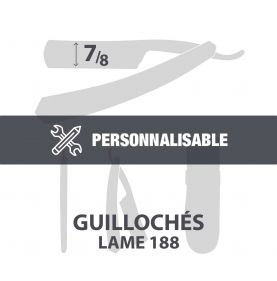 "Guillochés 7/8"" - Lame 188"